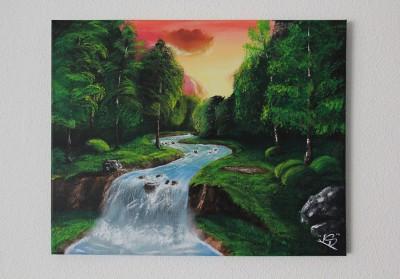 50x40 cm canvas